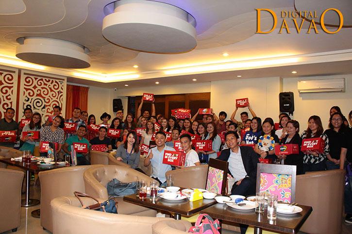 lazada box of joy with davao media