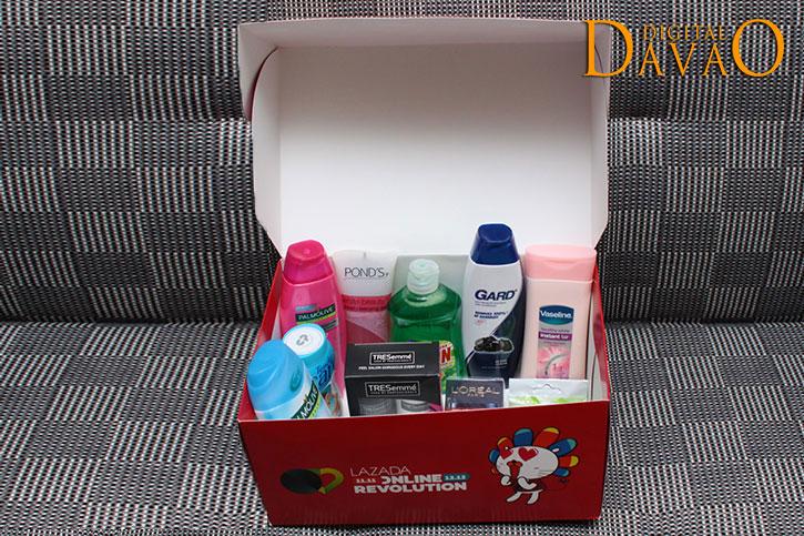 my lazada box of joy
