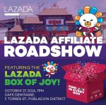 lazada affiliate roadshow in davao