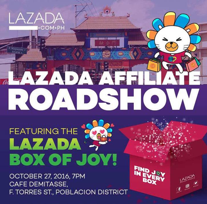 lazada affiliate roadshow in davao
