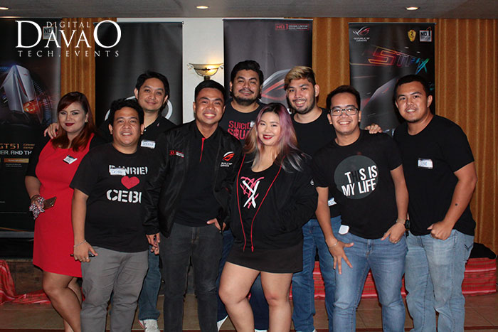 davao bloggers society at the asus rog roadshow 2016 with anvey