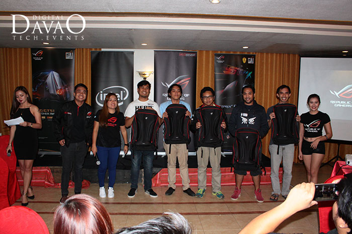 winners at the asus rog roadshow 2016