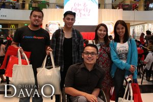 Davao Bloggers Society at the National Bookstore Event Color and Calligraphy Fair Davao