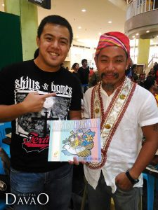 DigitalDavao with Kublai Millan at the Art for love for art