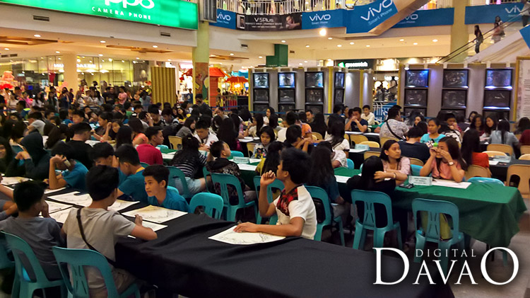 Schools in davao well represented for the Art for love for art event