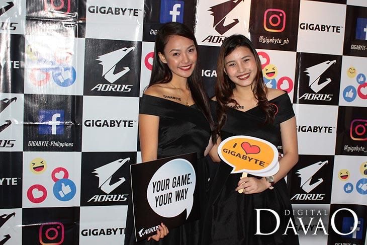 beautiful gigabyte brand ambassadress