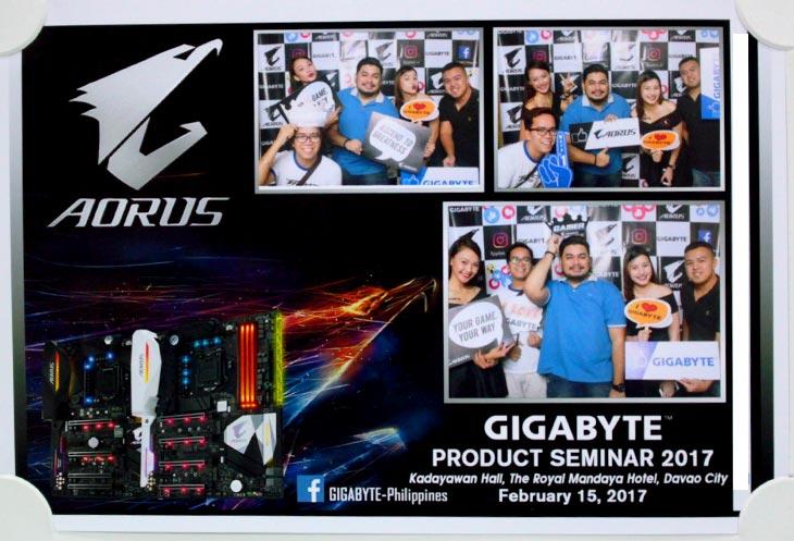 davao tech bloggers with gigabyte ambassadress