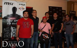 AMD Speaker with Gigabyte Marketing and Davao Tech Bloggers the AMD Ryzen Event