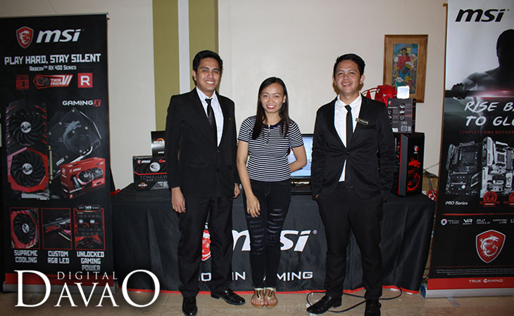 The Royal Mandaya Hotel Management of Information Systems at the AMD Ryzen Event