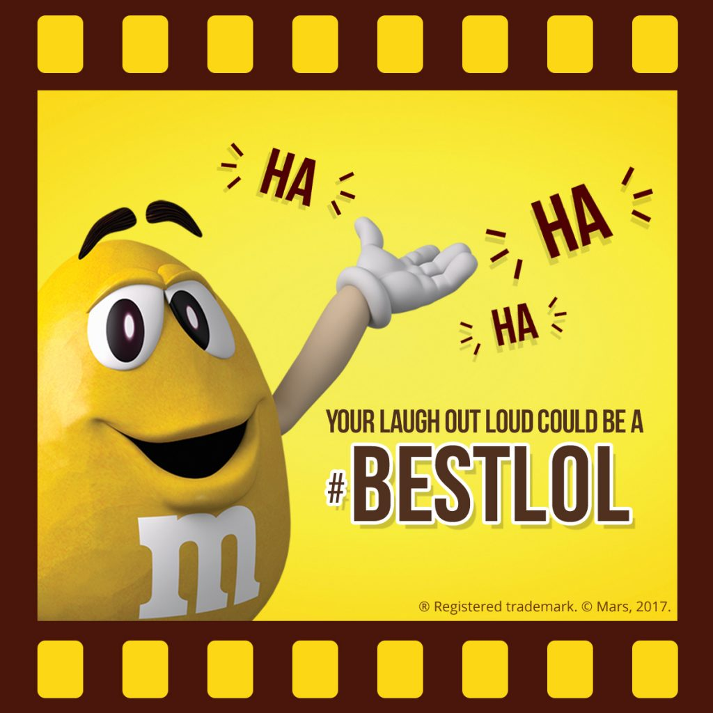 M&M'S Screenbite Awards BestLOL