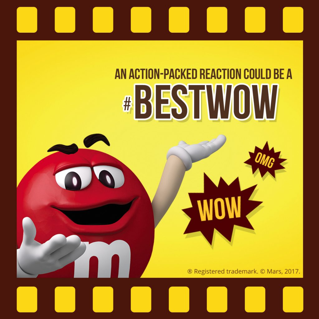 M&M'S Screenbite Awards BestWOW