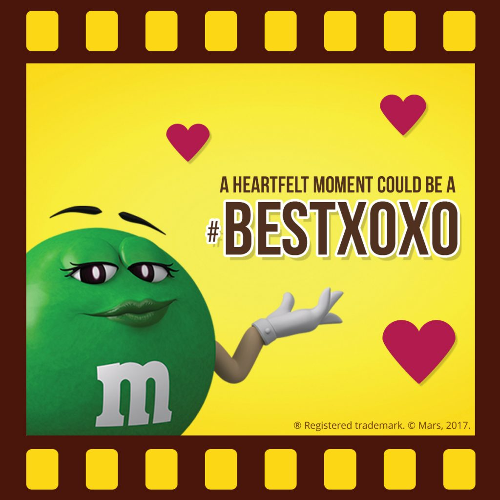 M&M'S Screenbite Awards BestXOXO