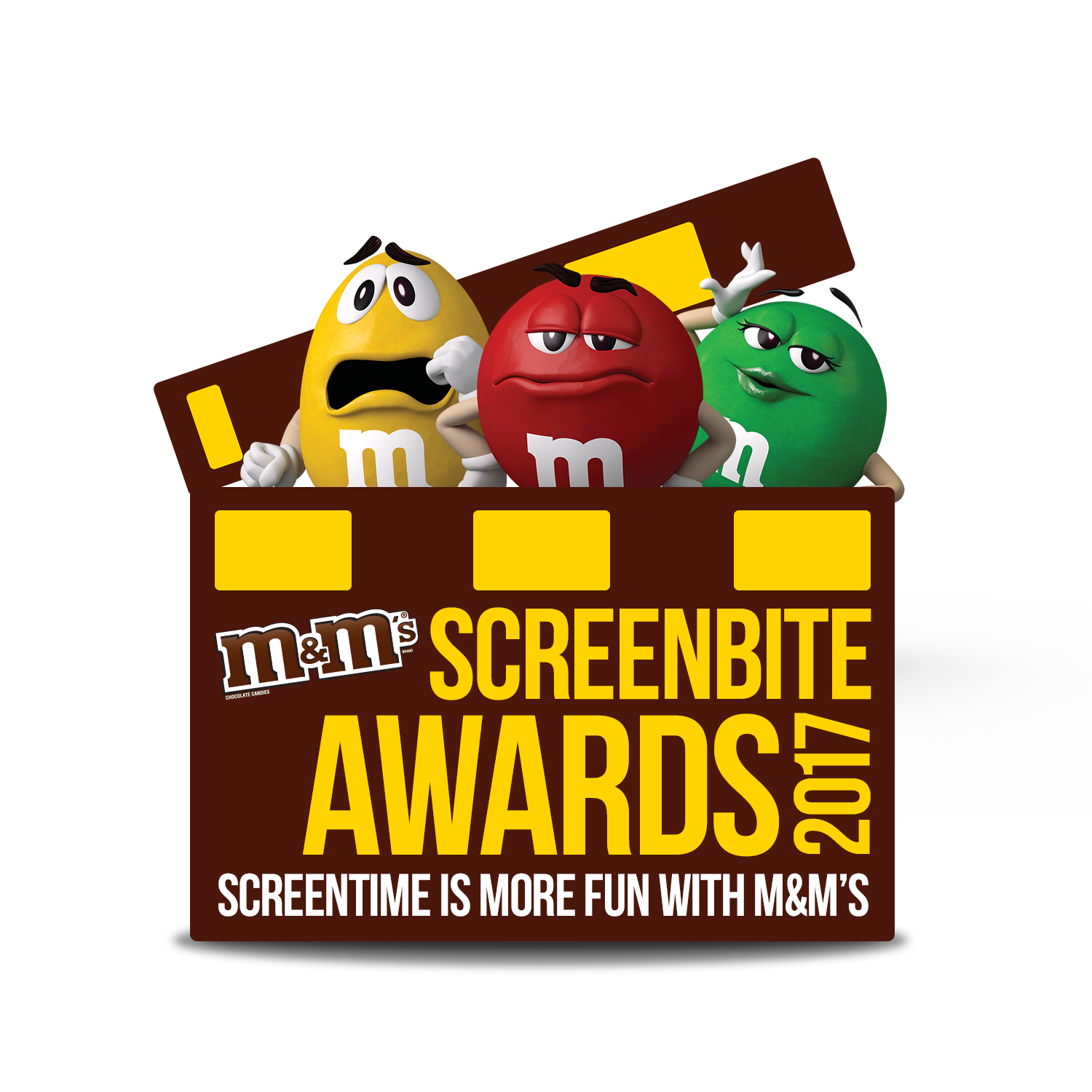 M&M's Screenbite Awards Logo