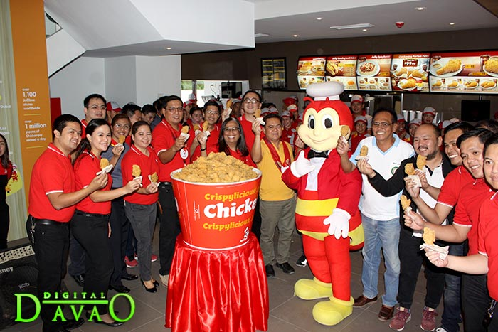 Blessing and Ribbon Cutting of Jollibee Puan e