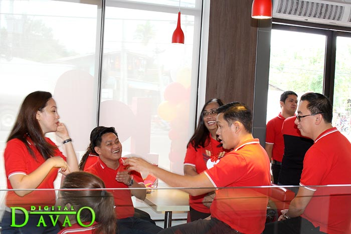 Blessing and Ribbon Cutting of Jollibee Puan n